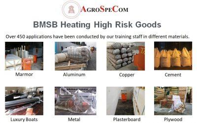 Θερμική απεντόμωση & πιστοποιητικό BMSB για εξαγωγές προς Αυστραλία